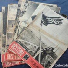 Coleccionismo de Revista Destino: 12 REVISTAS DESTINO. AÑO 1952.. Lote 211595910