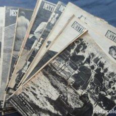 Coleccionismo de Revista Destino: 12 REVISTAS DESTINO. AÑO 1954.. Lote 211599226