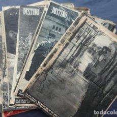 Coleccionismo de Revista Destino: 14 REVISTAS DESTINO. AÑO 1955.. Lote 211603726