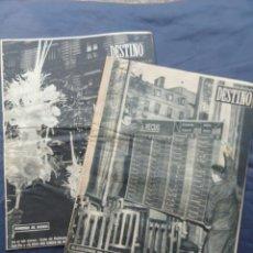 Coleccionismo de Revista Destino: 2 REVISTAS DESTINO. AÑO 1956.. Lote 211604264