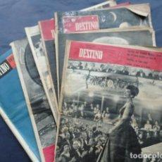 Coleccionismo de Revista Destino: 7 REVISTAS DESTINO. AÑO 1959.. Lote 211604991