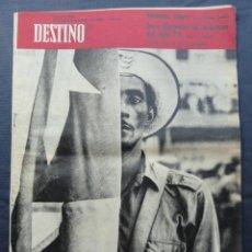Coleccionismo de Revista Destino: REVISTA DESTINO. AÑO 1960 Nº 1209 08/10/1960. Lote 211605920