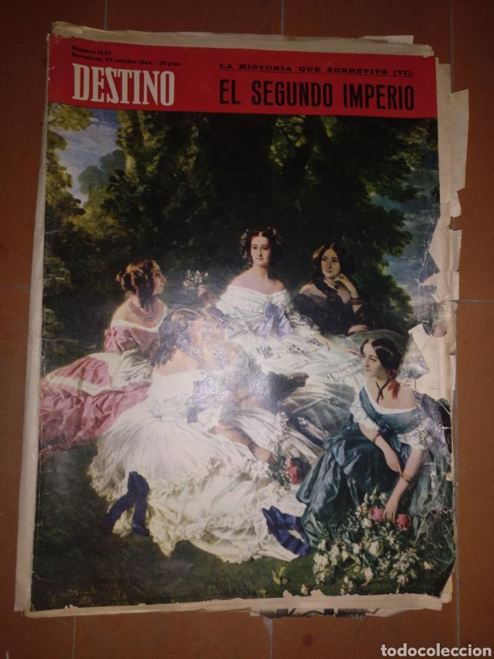 DESTINO NUM 1525 29 OCTUBRE1966 (Coleccionismo - Revistas y Periódicos Modernos (a partir de 1.940) - Revista Destino)