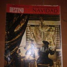 Coleccionismo de Revista Destino: DESTINO 24 DICIEMBRE 1966. Lote 213462221
