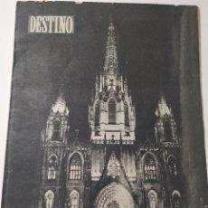 Coleccionismo de Revista Destino: REVISTA DESTINO DE MAYO DE 1952. Lote 218429433