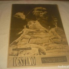 Coleccionismo de Revista Destino: DESINO N. 612. ABRIL 1949. LA ESFINGE NO SONRIE.. Lote 226468565