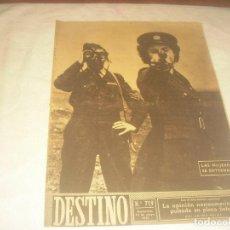 Coleccionismo de Revista Destino: DESTINO N. 719 , BARCELONA MAYO 1951 . LAS MUJERES DE LA R.A.F. SE ENTRENAN.. Lote 226472960