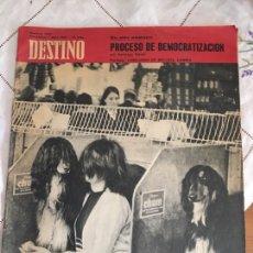 Coleccionismo de Revista Destino: DESTINO, REVISTA Nº 1547. Lote 235654715