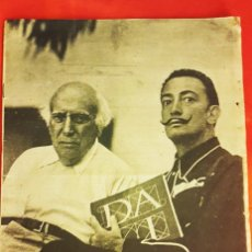 Colecionismo da Revista Destino: DALÍ EN CADAQUÉS ,REVISTA DESTINO 1948. Lote 238197935