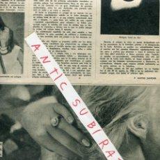 Coleccionismo de Revista Destino: REVISTA 1959 FLAMENCO CARMEN AMAYA EN BEGUR MUSEO POSTAL CORREOS ARTIACH CHIQUILIN JOYERIA BAGUES. Lote 18270243