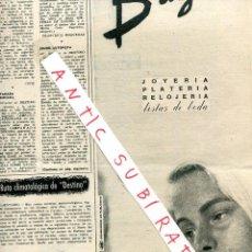 Coleccionismo de Revista Destino: REVISTA 1960 PICASSO LLORENS ARTIGAS EL RACO DE GALLIFA JOYERIA BAGUES CERVEZA SAN MIGUEL. Lote 18074891