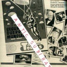 Coleccionismo de Revista Destino: REVISTA 1958 PEDRO YNGLADA JUAN LOPEZ IBOR SOLLANA VALENCIA ABELLO CHOCOLATES TORRAS. Lote 18170295