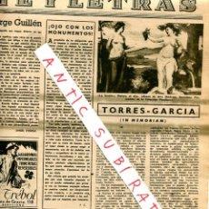 Colecionismo da Revista Destino: REVISTA 1949 EDIFICIO DE LA ONU EN NUEVA YORK JOAQUIN RODRIGO GUITARRA TORRES GARCIA. Lote 17895530