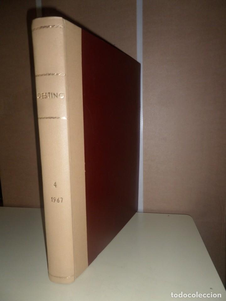 DESTINO 10 NUMEROS ENCUADERNADOS - DEL Nº 1574 AL 1582 / AÑO 1967 - DISPONGO DE MAS REVISTAS (Coleccionismo - Revistas y Periódicos Modernos (a partir de 1.940) - Revista Destino)