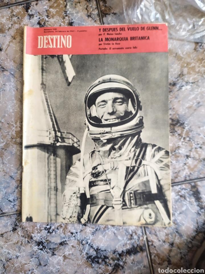 DESTINO ASTRONAUTA (Coleccionismo - Revistas y Periódicos Modernos (a partir de 1.940) - Revista Destino)