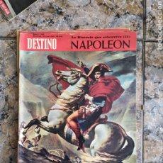 Coleccionismo de Revista Destino: NAPOLEÓN DESTINO. Lote 254260220