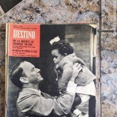 Coleccionismo de Revista Destino: FRANK SINATRA DESTINO. Lote 254260465