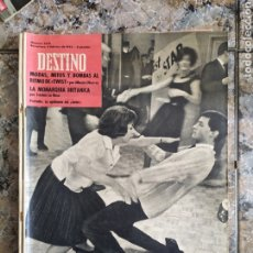 Coleccionismo de Revista Destino: LA EPIDÈMIA TWIST DESTINO. Lote 254260840