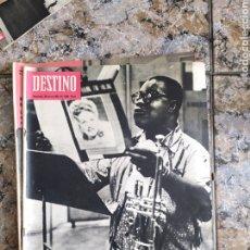 Coleccionismo de Revista Destino: AMSTRONG DESTINI. Lote 254276815