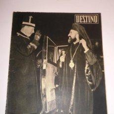 Coleccionismo de Revista Destino: REVISTA DESTINO NUM 1125. Lote 277276138