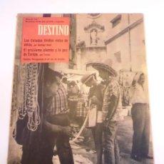 Coleccionismo de Revista Destino: REVISTA DESTINO NUM 1146. Lote 277276188