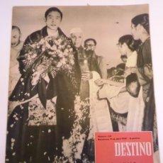 Coleccionismo de Revista Destino: REVISTA DESTINO NUM 1131. Lote 277276193