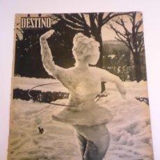 Coleccionismo de Revista Destino: REVISTA DESTINO NUM 1122. Lote 277276223