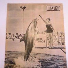 Coleccionismo de Revista Destino: REVISTA DESTINO NUM 1101. Lote 277276233