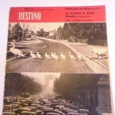 Coleccionismo de Revista Destino: REVISTA DESTINO NUM 1142. Lote 277276248
