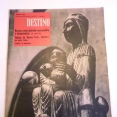 Coleccionismo de Revista Destino: REVISTA DESTINO NUM 1133. Lote 277276253