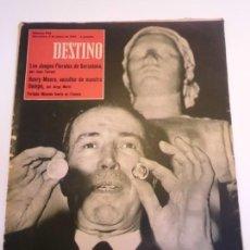 Coleccionismo de Revista Destino: REVISTA DESTINO NUM 1134. Lote 277276278