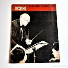 Colecionismo da Revista Destino: 1969 REVISTA DESTINO. Lote 284363048