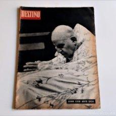 Colecionismo da Revista Destino: 1963 REVISTA DESTINO. Lote 284363103