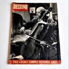 Colecionismo da Revista Destino: 1966 REVISTA DESTINO. Lote 284363393