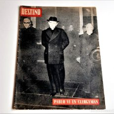 Colecionismo da Revista Destino: 1966 REVISTA DESTINO. Lote 284480168