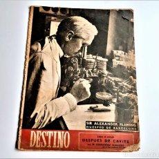 Colecionismo da Revista Destino: 1948 REVISTA DESTINO. Lote 284480428