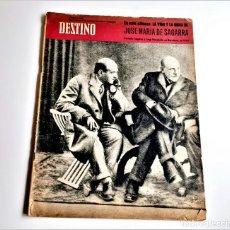 Colecionismo da Revista Destino: 1961 REVISTA DESTINO. Lote 284480493