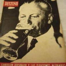 Coleccionismo de Revista Destino: REVISTA DESTINO NUMERO 1670. Lote 285296428