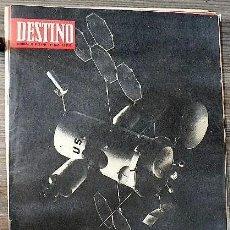 Coleccionismo de Revista Destino: REVISTA DESTINO Nº 1660, 26 DE JULIO DE 1969. Lote 285301393