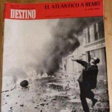 Coleccionismo de Revista Destino: REVISTA DESTINO Nº 1664 - AGOSTO 1969. Lote 292033498