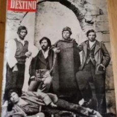 Coleccionismo de Revista Destino: REVISTA DESTINO 1677 DEL 22 NOVIEMBRE 1969. Lote 292041163