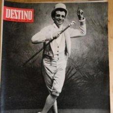 Coleccionismo de Revista Destino: REVISTA DESTINO Nº 1680 - DICIEMBRE 1969. Lote 292041308