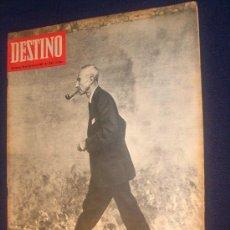 Coleccionismo de Revista Destino: REVISTA DESTINO NÚM 1542 DEL 25 FEBRERO 1.967 OPPENHLIMER, EL CONSTRUCTOR DE LA PRIMERA BOMBA ATOMI. Lote 26939108