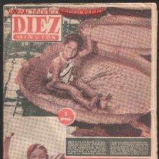 Coleccionismo de Revista Diez Minutos: DIEZ MINUTOS Nº 165-LEER DESCRIPCION Y ENVIO. Lote 14093346