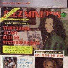 Coleccionismo de Revista Diez Minutos: DIEZ MINUTOS. Lote 545754