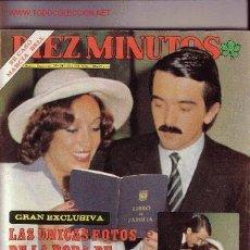 Coleccionismo de Revista Diez Minutos: DIEZ MINUTOS. Lote 545772
