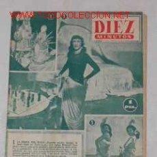 Coleccionismo de Revista Diez Minutos: REVISTA DIEZ MINUTOS NUM.3, 15 SEPTIEMBRE 1951. Lote 15282849