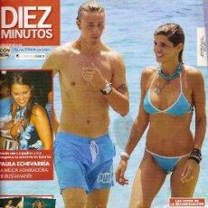 Coleccionismo de Revista Diez Minutos: REVISTA 'DIEZ MINUTOS', Nº 2862. 28 DE JUNIO DE 2006. GUTI EN PORTADA.. Lote 23208732