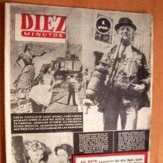 Coleccionismo de Revista Diez Minutos: DIEZ MINUTOS Nº 106 - 6 SEPTIEMBRE 1953. Lote 17464196