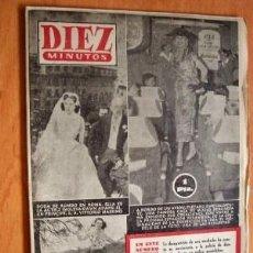 Coleccionismo de Revista Diez Minutos: DIEZ MINUTOS Nº 143 - 23 MAYO 1954. Lote 17251599
